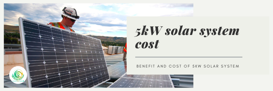 How much does a 5kW solar system cost in Uttar Pradesh
